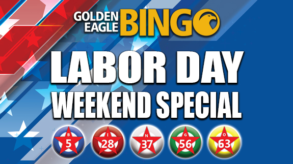 Bingo Labor Day Weekend Special Shooting Star Casino Minnesota