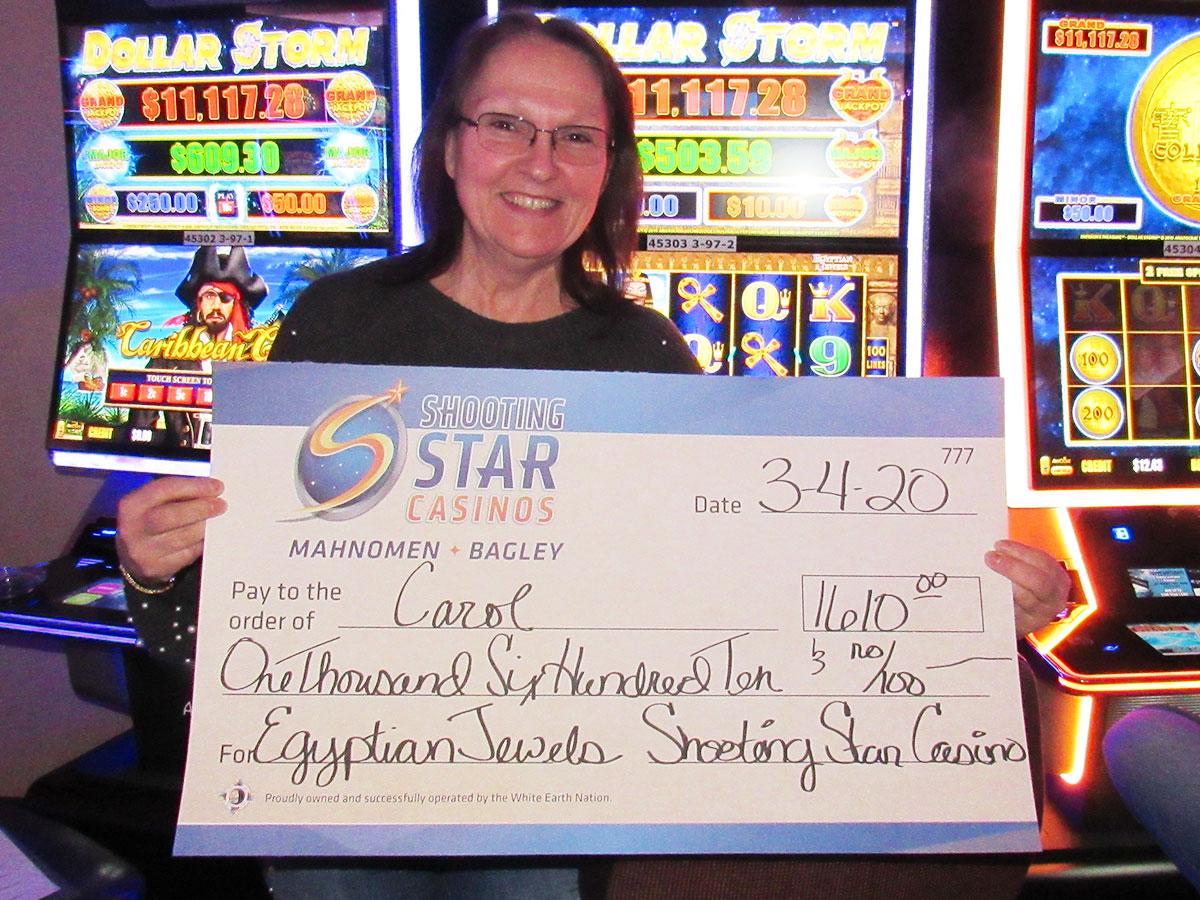 Carol | $1,610